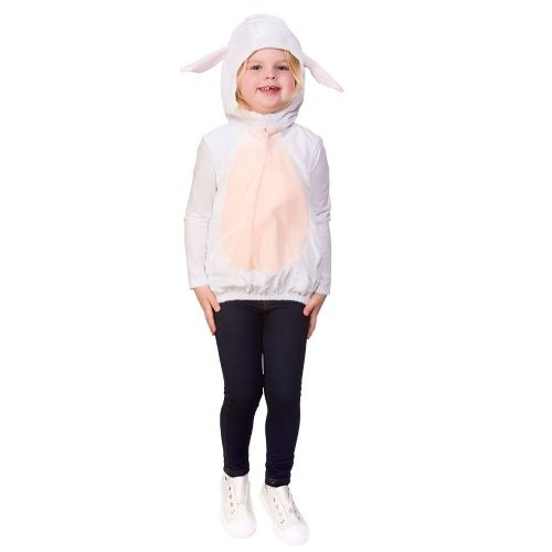 Childrens Child Tabard - Sheep Costume Unisex Fancy Dress